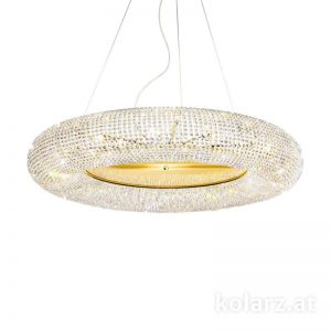 Pendant Light CARLA, Pure Crystals